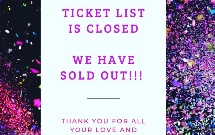 Charity Ball Sold Out